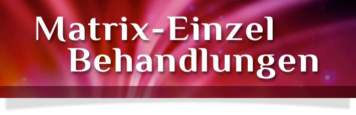 energetische behandlung mit der Matrix quantenheilung